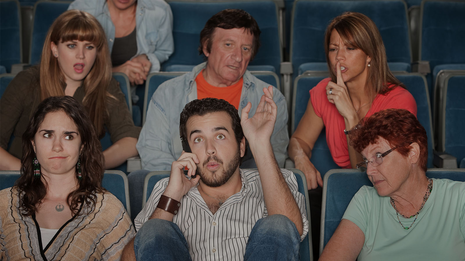 9 Kinds of Annoying People at a Movie Theater
