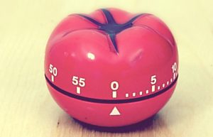 Experimenting Pomodoro with Tomighty Desktop Timer