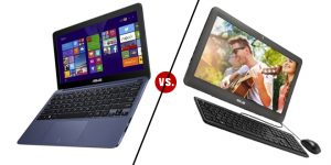 TechBattle: ASUS EeeBook X205TA vs. ASUS All In One PC ET2040